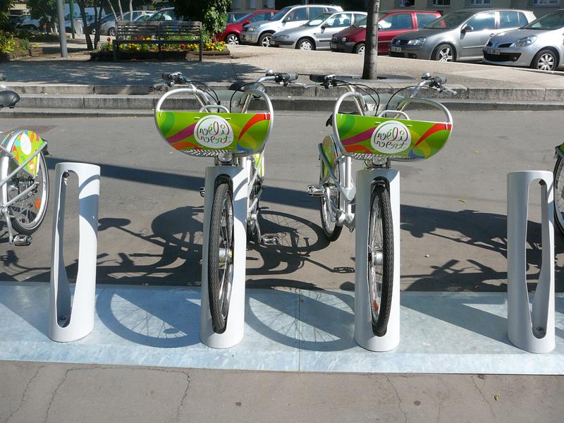 Σύστημα ενοικίασης κοινόχρηστων ποδηλάτων στην Αθήνα