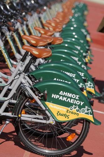 Δήμος Ηρακλείου: 100 ποδήλατα EasyBike