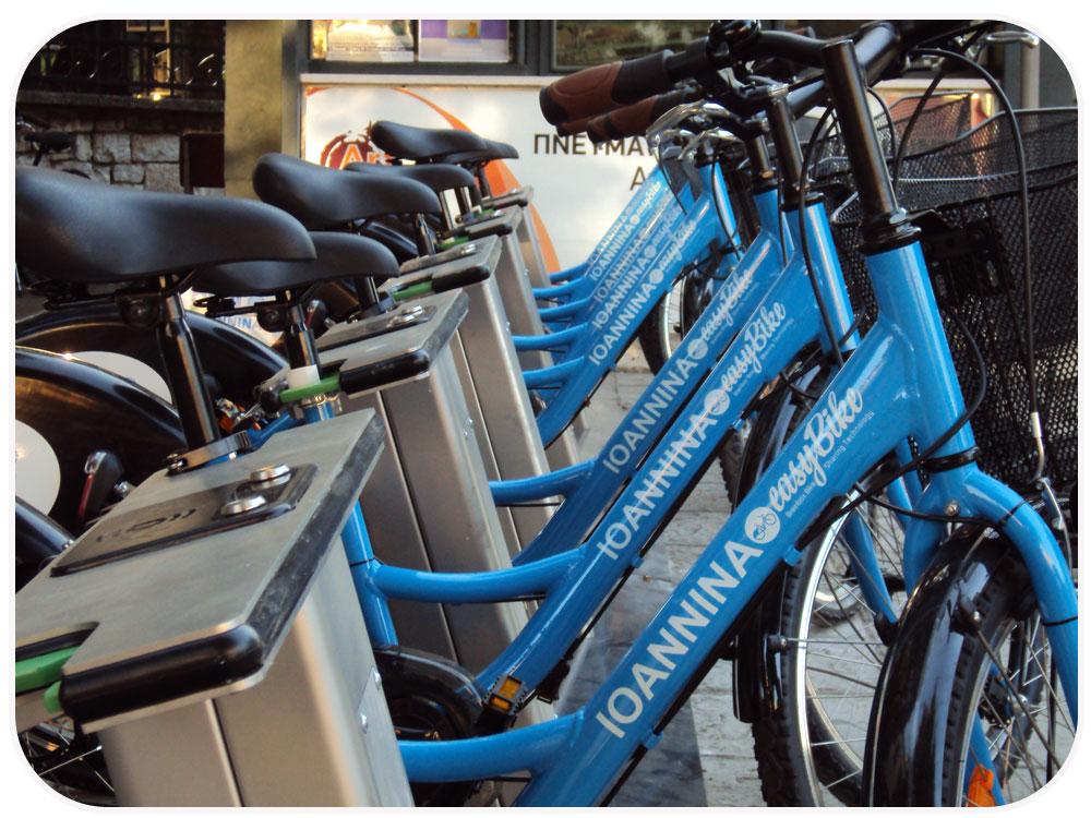 Ποδηλατοδράσεις στον ΣΚΑΙ. EasyBike Ιωαννίνων