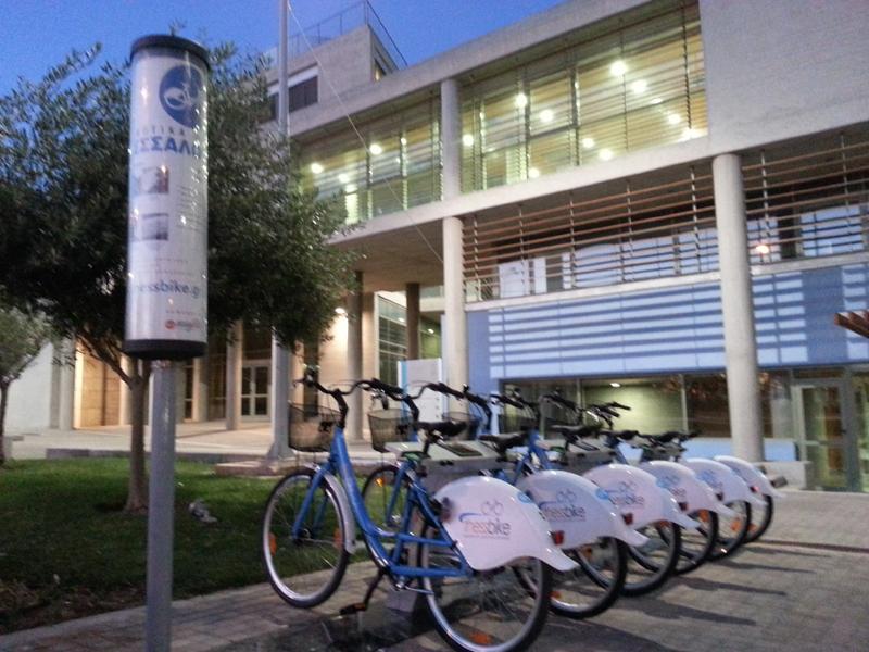 Thessbike - Το πρώτο ιδιωτικό σύστημα ενοικίασης κοινόχρηστων ποδηλάτων