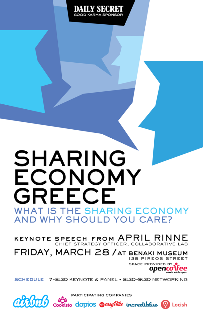 Sharing Economy Greece at Open Coffee Athens