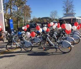 Ξεκίνησε η διάθεση καρτών χρήσης των κοινόχρηστων ποδηλάτων του Δήμου
