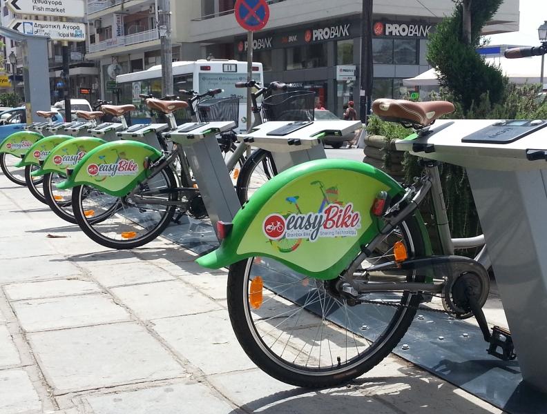 Νέο ολόφρεσκο site για τα κοινόχρηστα ποδήλατα EasyBike