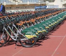 Heraklion Belediye: 100 bisiklet EasyBike