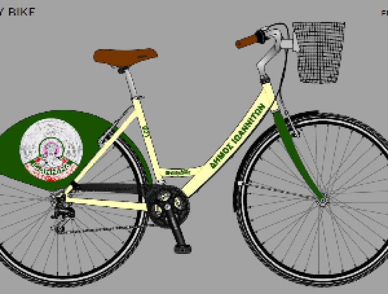 Paylaşılan EasyBike bisiklet ile Ioannina Rides