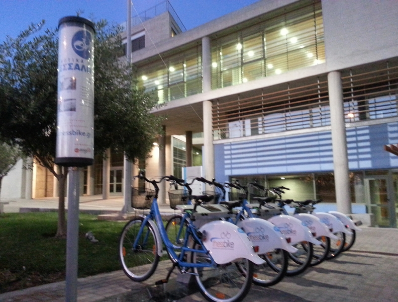 Thessbike – İlk özel halk bisiklet kiralama sistemi