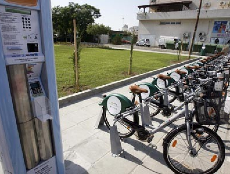 Lefkoşa paylaşılan bisiklet memnuniyet