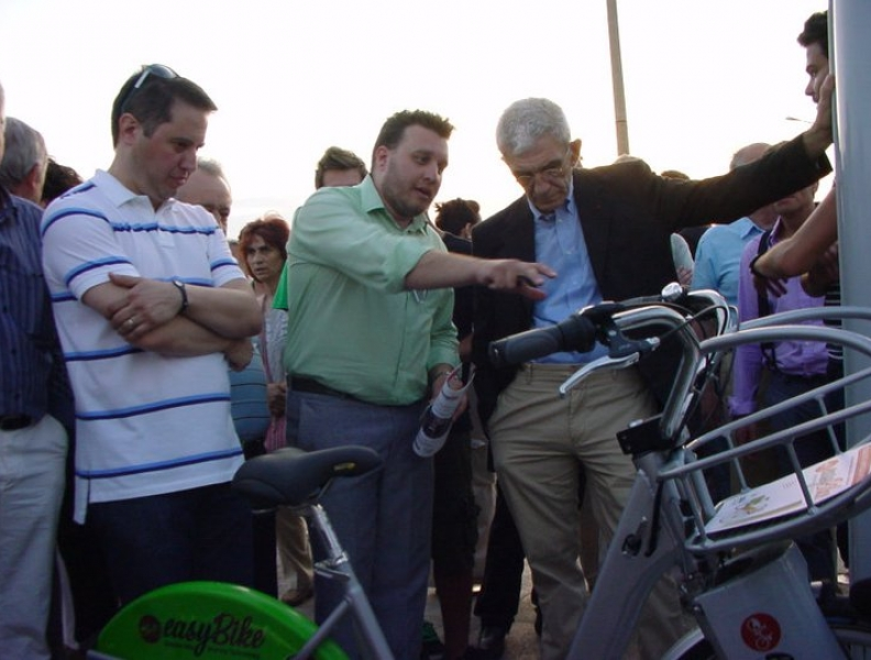 Selanik greenparty içinde EasyBike