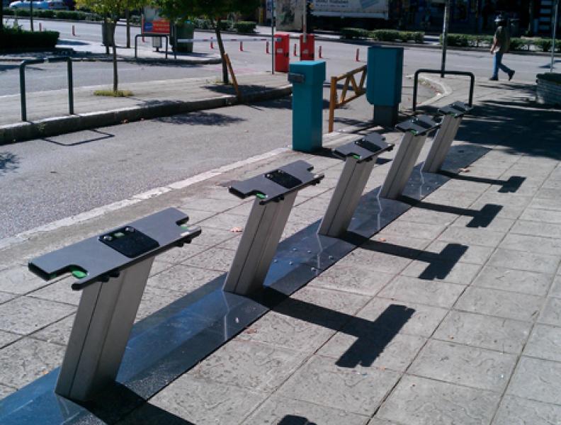 Otwarcie systemu komunalnych rowerów EasyBike w Ioannina