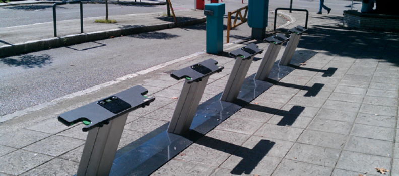 Yanya toplumlu bisiklet EasyBike sisteminin açılışı